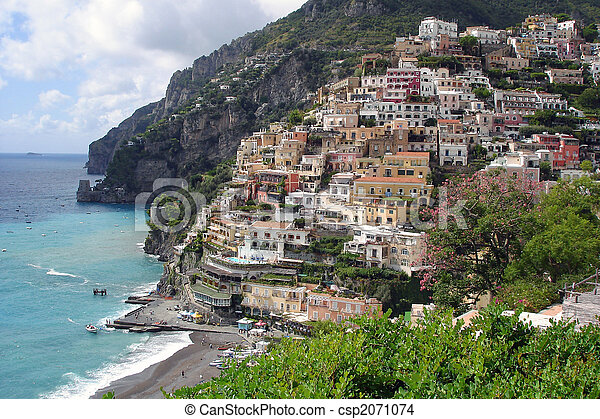 Positano at the Amalfi coast - csp2071074