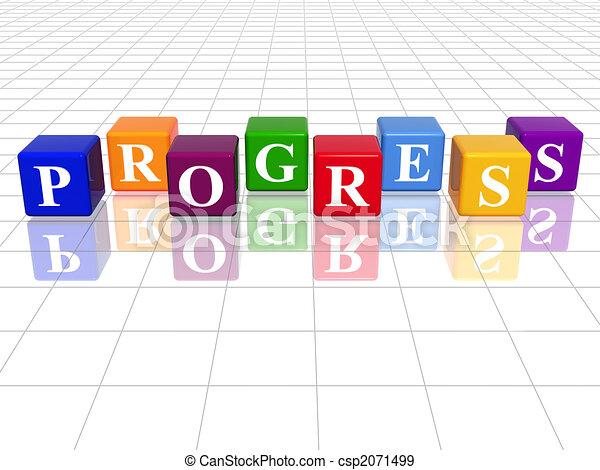 colour progress - csp2071499