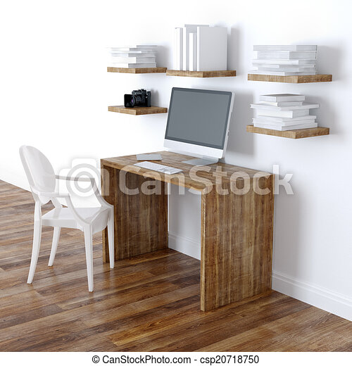 내부, 가정, 현대, 디자인, 사무실 - 현대, 가정, 사무실, 내부 ...