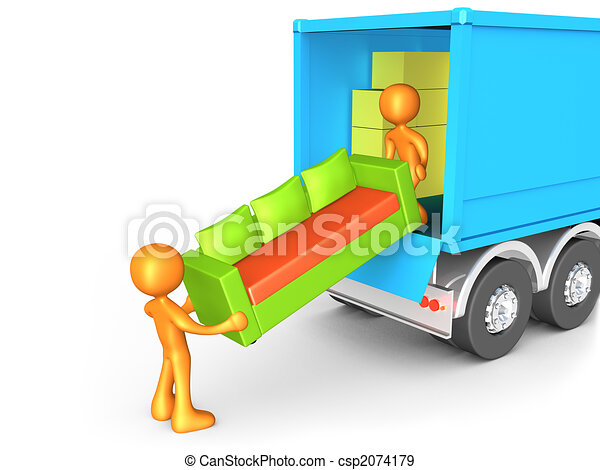 Moving Company - csp2074179