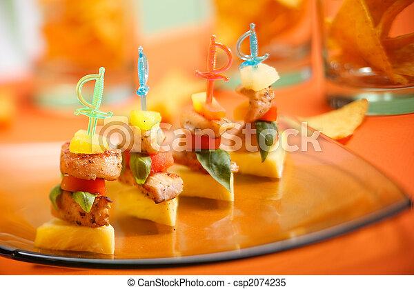 Party snack - csp2074235