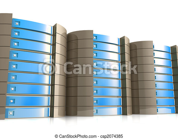 Web Hosting Equipment - csp2074385