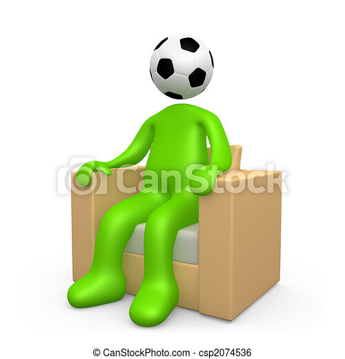 Addicted To Soccer - csp2074536