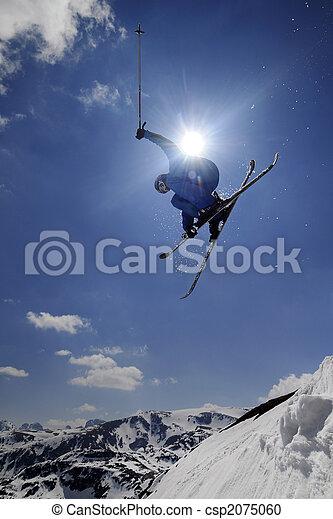 Extreme skier - csp2075060