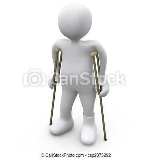 Broken foot Illustrations and Stock Art. 648 Broken foot ...