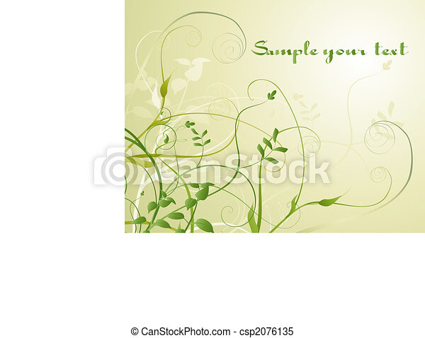 Flowers background - csp2076135