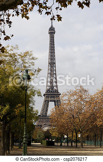 Eifel tower in Paris/France - csp2076217