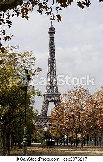 Eifel tower in Paris/France - csp2076217