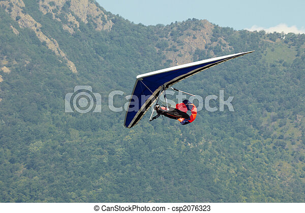 hang glider - csp2076323