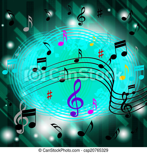 green music background means jazz soul royalty free