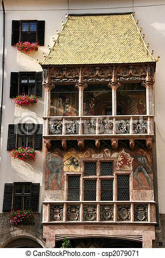 Innsbruck landmark - csp2079071