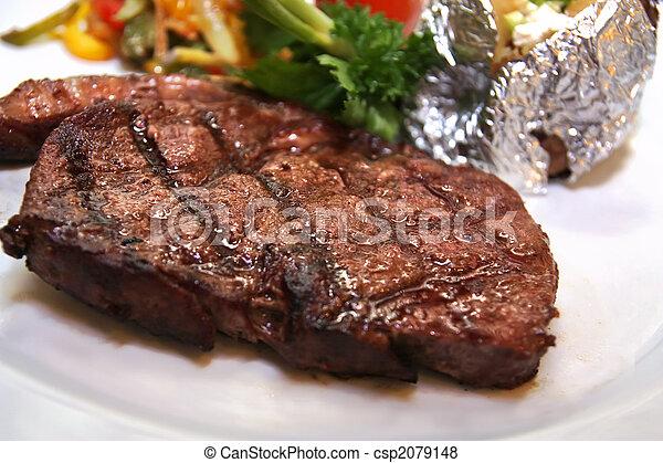 sirloin steak - csp2079148