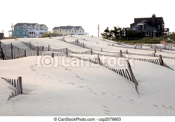 Homes In The Outer Banks, North Carolina - csp2079663