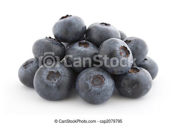 A pile of fresh blueberries - csp2079795