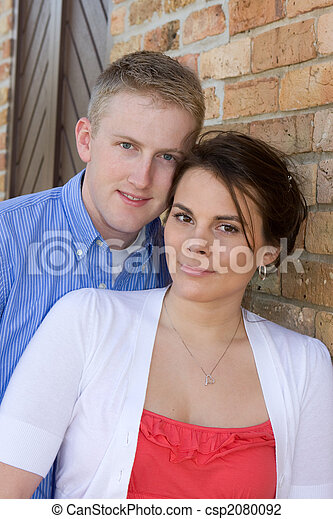 Young Adult Couple - csp2080092