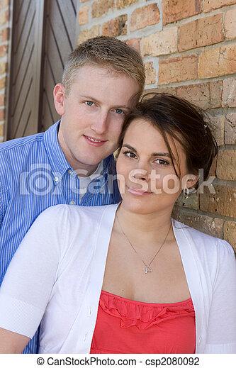 夫婦, 年輕, 成人 - csp2080092