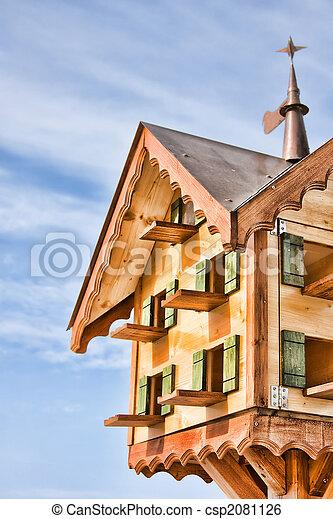 Bird House - csp2081126