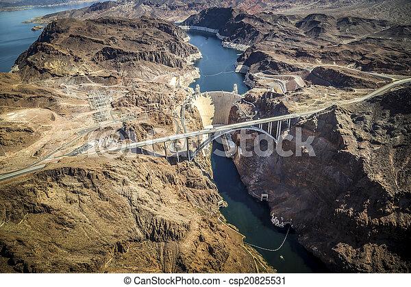 Hoover Dam & Lake Mead, Las Vegas N - csp20825531