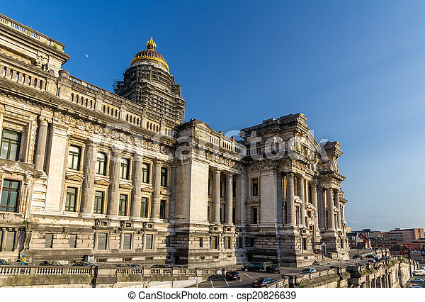 Law Courts of Brussels, Belgium - csp20826639