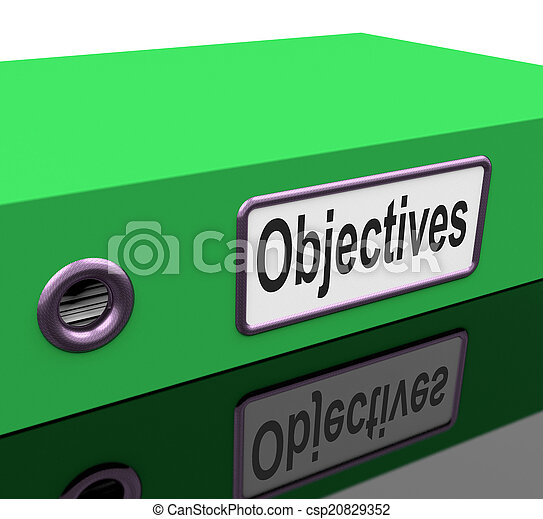 File Objectives Means Goals Mission And Plan - csp20829352