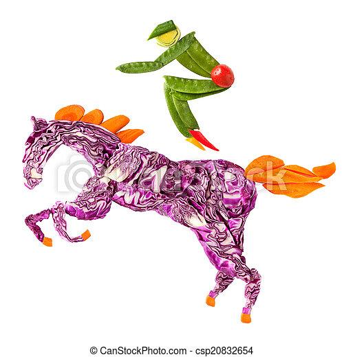 Horse rider. - csp20832654