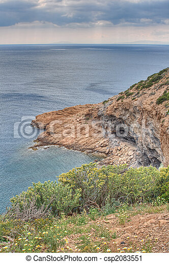 Greek Coast - csp2083551