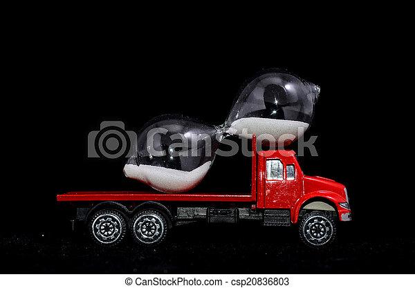 Time Transportation Concept - csp20836803