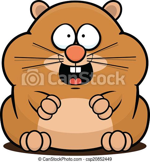 Vecteur eps de dessin anim hamster dessin anim - Hamster dessin anime ...