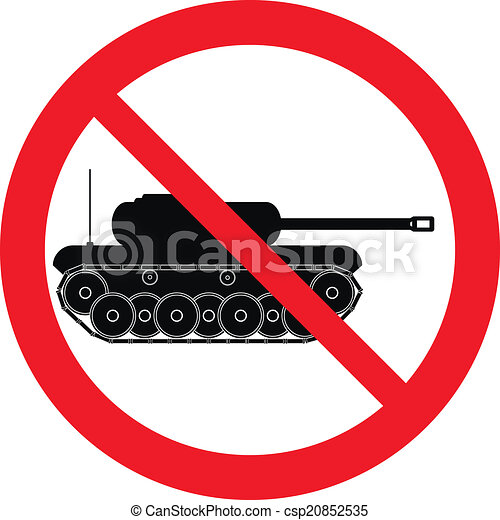 No war sign - csp20852535