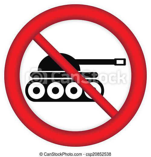 No war sign - csp20852538