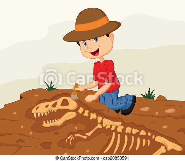 Archaeologist Clipart - Synkee