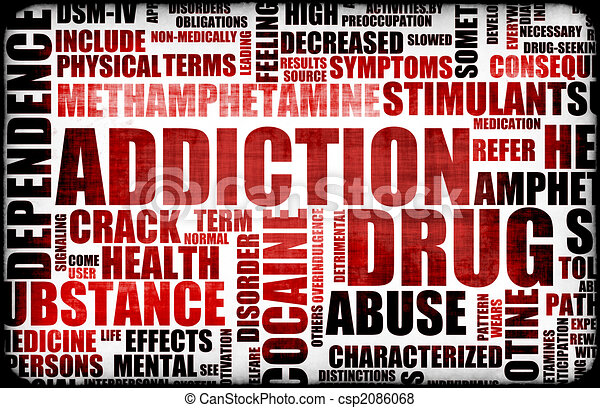 Red Drug Addiction - csp2086068