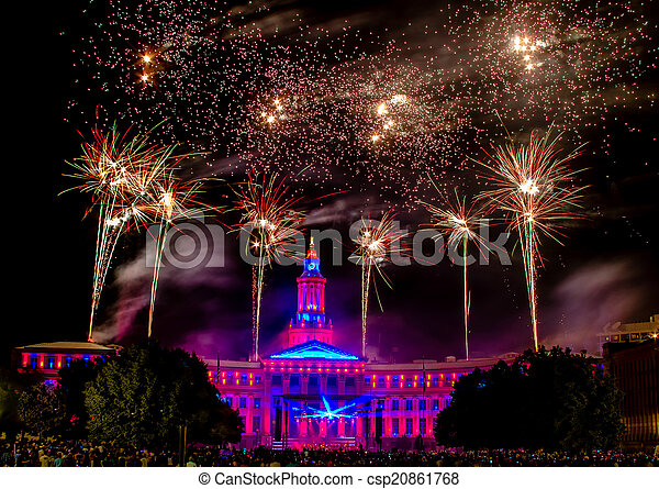 Denver CO 4th of July Fireworks