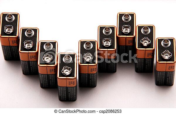 8 9 Volt Batteries - csp2086253