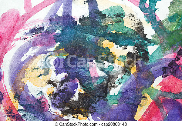 abstract watercolor like background