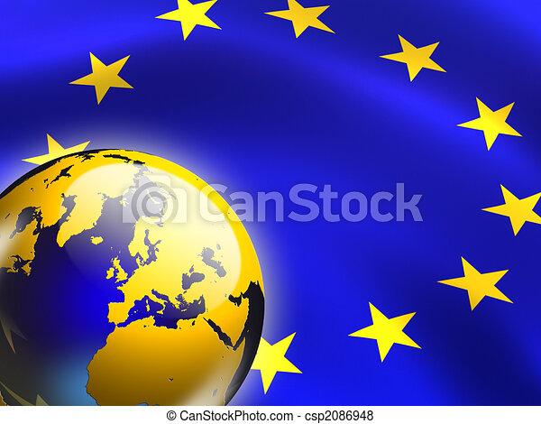 European union - csp2086948