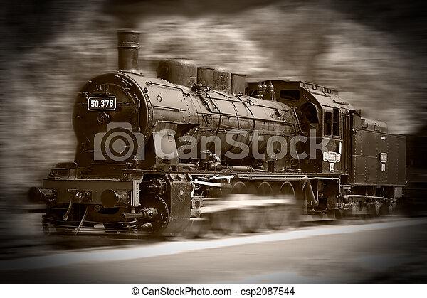 Steam trains - csp2087544