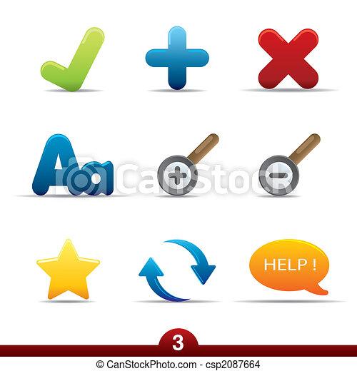 Icon series - web universal - csp2087664