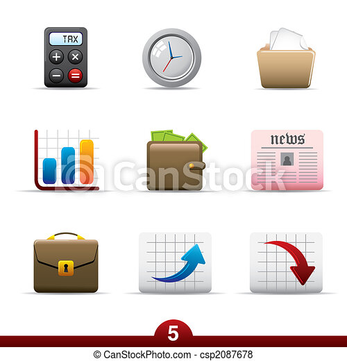 Icon series - business - csp2087678
