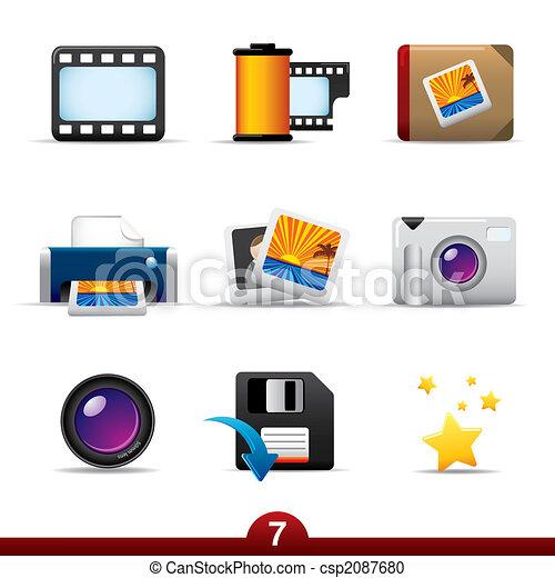 Icon series - photography - csp2087680