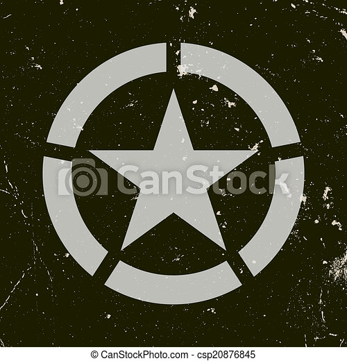 Military symbol - csp20876845