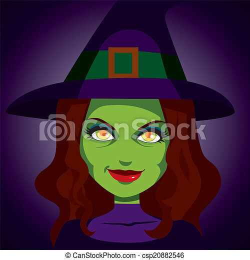 eps vector of scary mysterious witch face illustration witch broom silhouette clip art witch riding a broom clip art
