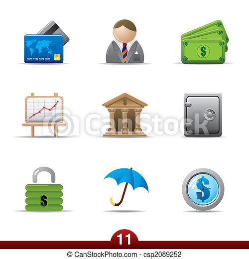 Icon series - finance - csp2089252