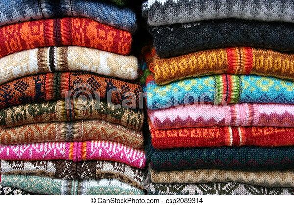 woolen sweaters on market - csp2089314
