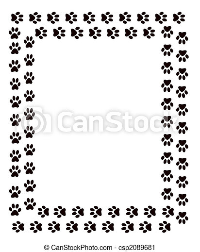 Pawprint Illustrations and Clipart. 334 Pawprint royalty free ...