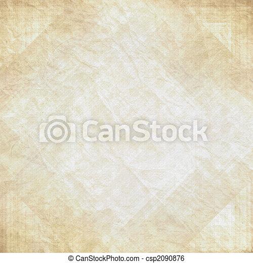 Old vintage wrinkled paper - csp2090876
