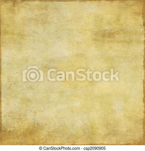 Old grunge paper with worn edges - csp2090905