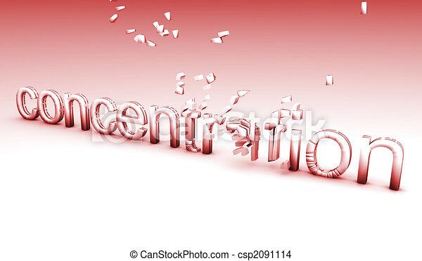 Broken Concentration - csp2091114