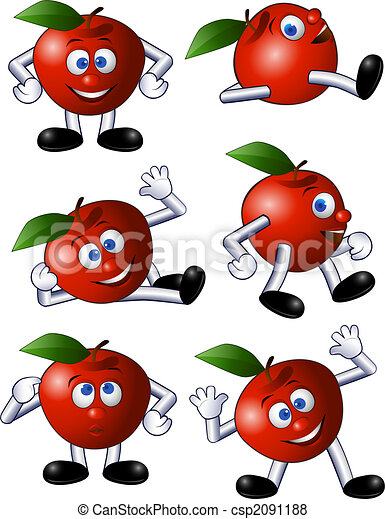 Apple character - csp2091188