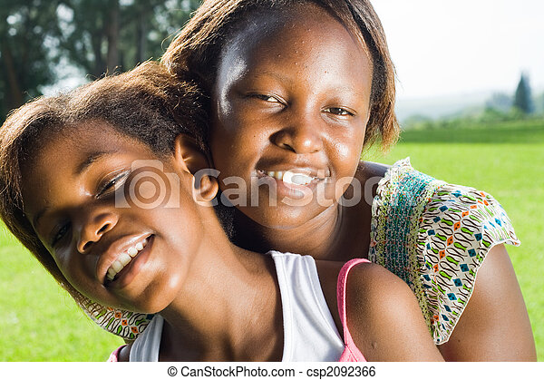 african sisters - csp2092366